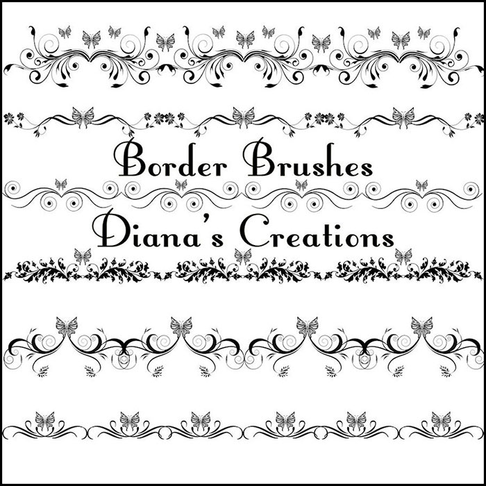 Elegant Border Brushes 04 - deviantART