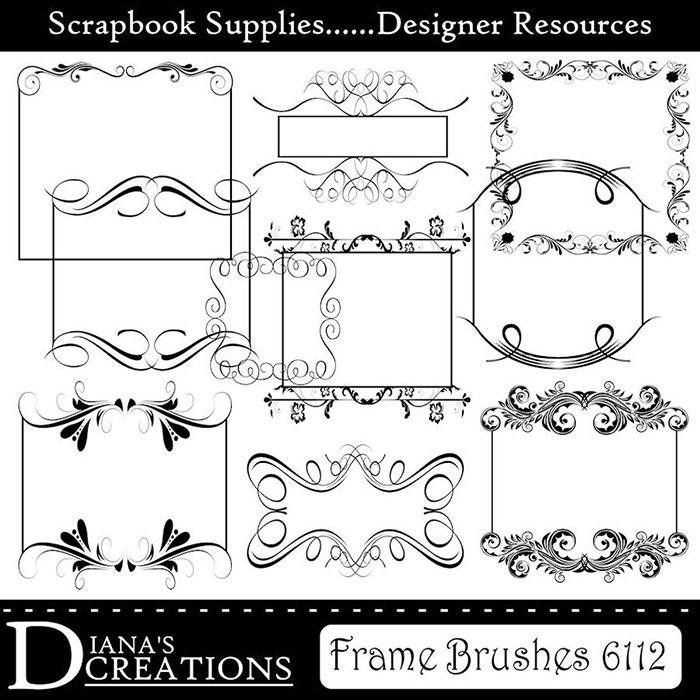 Elegant Frame Brushes - deviantART